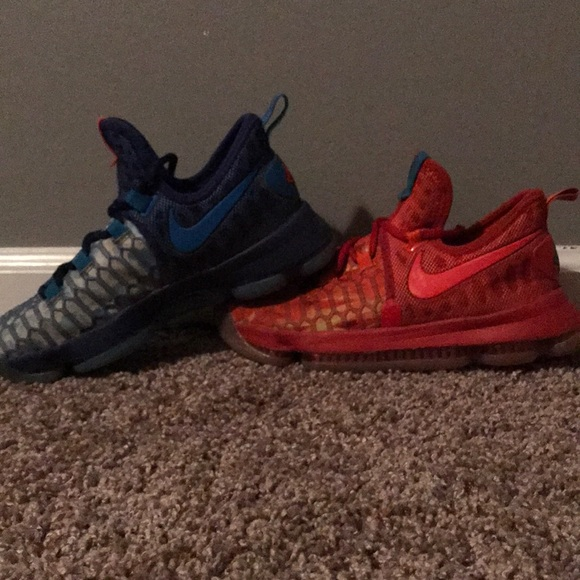 Nike Shoes | Nike Kd Fire And Ice